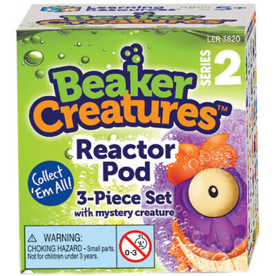 Learning Resources Beaker Creatures Reactor Pod with Mystery Creature (Series 2)