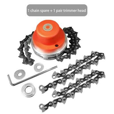 For Lawn Mower 65Mn Replace Trimmer Head Coil Chain Brush Garden Grass Trimmer