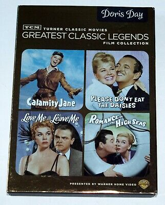 Doris Day: Warner Brothers Silver Screen: 4 DVDs; RARE; FREE SHIPPING, US & Can.