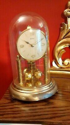 Bentima  Glass Dome Anniversary Clock. Spares or Repair