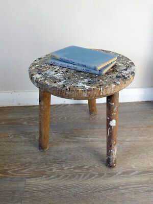 Rustic Three Legged Milking Stool