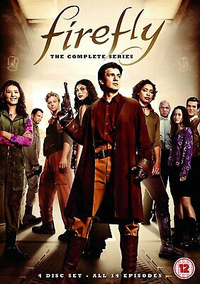 Firefly The Complete Series (UK IMPORT) DVD [REGION 2] NEW