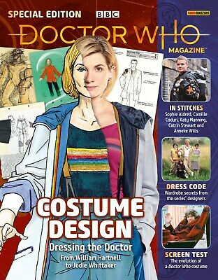 Doctor Who Special Edition Magazine - Costume Design....new