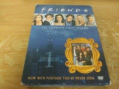 Friends The Complete First Season 4 Disc Tv Series Dvd Movie Film Box Set 2002