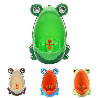 Fashion Frog Training Urinal Potty Bathroom Kids Cute Pee Trainer Toilet