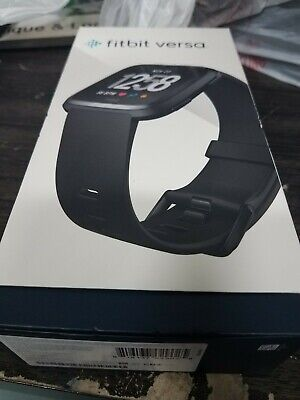 Fitbit Versa Smartwatch Grey new open box small large minty fitbit 37609