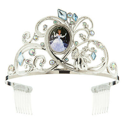 Disney Store Princess Cinderella Tiara for Girls Metal Headband NWT