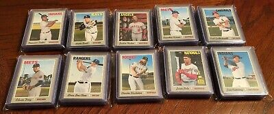 2019 TOPPS HERITAGE COMPLETE HIGH NUMBER SP SET #401-500 w/ ACUNA, TROUT + BONUS