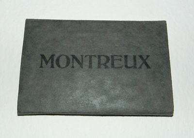 SNAPSHOT ALBUM OF MONTREUX - 11 Fold Out Images - 1930's