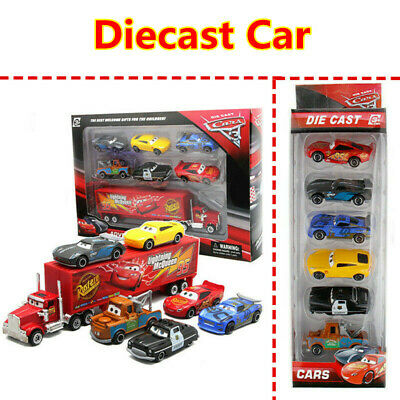 NEW Pixar Cars 3 Lightning McQueen Diecast Car Collection KIT SET GIFT Toys AU