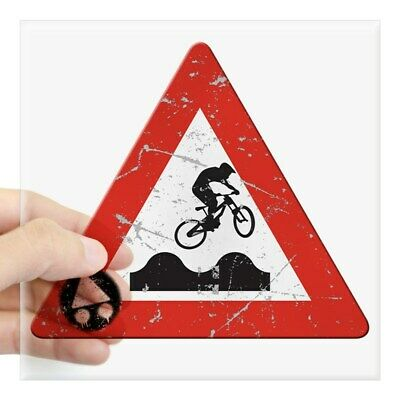 CafePress Sign_Jumphills Square Sticker 3 X 3 Square Sticker  (1068729373)