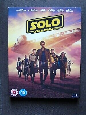 Solo: A Star Wars Story 2018, 2 Disc Set,  Blu-ray + slip case