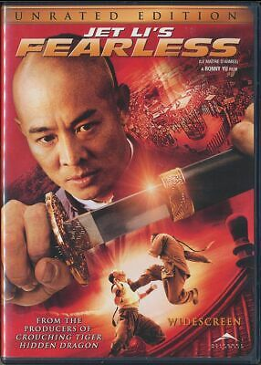 JET LI's - Fearless (DVD, 2006, Canadian, Widescreen) a Ronny Yu film