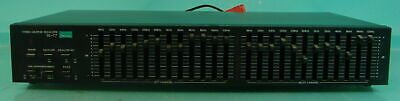 Vtg Sansui Audio Sound Stereo Graphic Equalizer Effects Board Model SE-77 Japan