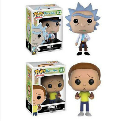 Rick And Morty Vinyl Funko Pop Action Figure Toy Doll Kids Gift With Box