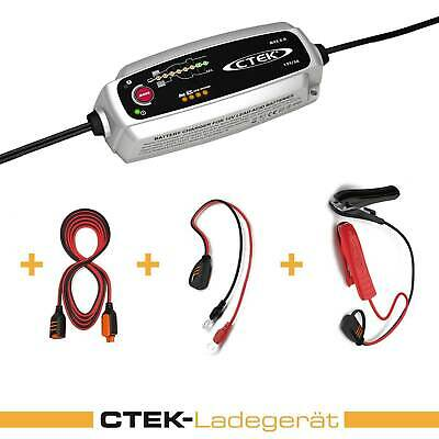 Ctek Mxs 5.0 Set Charging Cable Extension Vehicle Charger Car Motorcycle