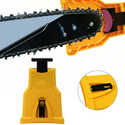 USA SELLER!!! Chainsaw Teeth Sharpener PowerSharp Bar Mount Chain Sharpening