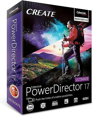 CyberLink PowerDirector Ultimate 17 | Latest Version | Download license | For PC