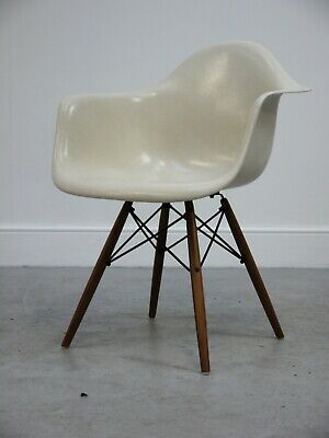1958 Vintage Original Rare Daw Shell Chair By Charles Ray Eames Herman Miller