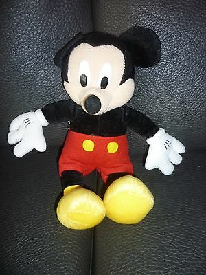 Peluche de collection : Mickey original Walt Disney en 20 cm