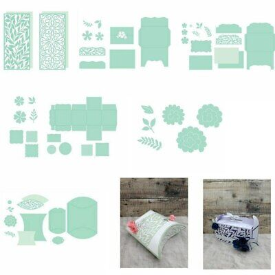 3D Pop up Box Panel Metal Cutting Dies Stencil Scrapbooking Embossing Paper Card