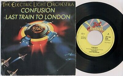 "ELECTRIC LIGHT ORCHESTRA 'Confusion/Last Train To London' 1979 Dutch 7"" / 45 rpm"