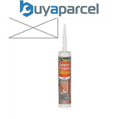 Everbuild General Purpose Silicone Clear C3 Size Cartridge