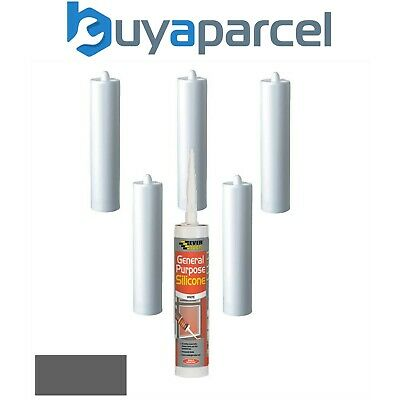 Everbuild 145 Butyl Rubber Sealant Grey C3 Size Pack of 6