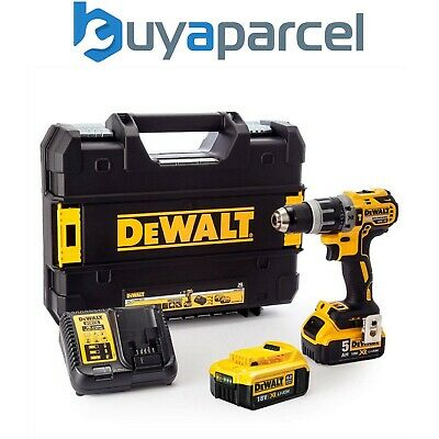 Dewalt DCD796 18v Brushless Combi Hammer Drill x1 4ah x1 5ah Battery XMS18CD18V