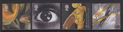 Gb Great Britain 2000 Millennium Sound And Vision Set Never Hinged Mint