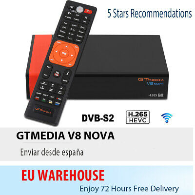 V8 Nova Satellite Receiver Gtmedia V8 NOVA HD 1080P Built Wifi Dongle DVB S2