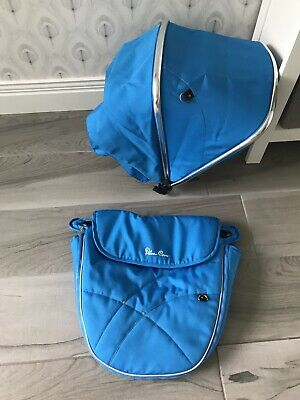 Silver Cross Wayfarer and Pioneer Hood and Apron Colour Pack Sky Blue RRP £145