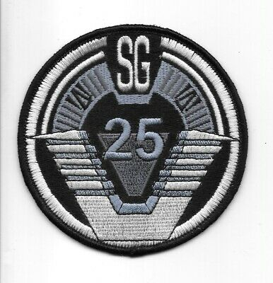 STARGATE SG-1 TV Series Project Earth Logo Embroidered Patch