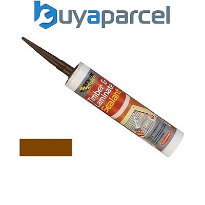 Everbuild Timber and Laminate Sealant Mahogany C3 Size Cartridge