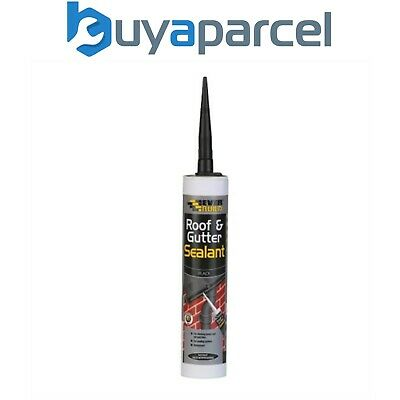 Everbuild Weatherproof Roof and Gutter Sealant C3 Size Cartridge
