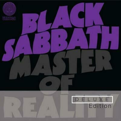 Master Of Reality (Deluxe Edition) - Sabbath Black Compact Disc Free Shipping!