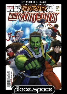 War Of The Realms: New Agents Of Atlas #4A (Wk26)