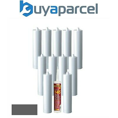Everbuild 145 Butyl Rubber Sealant Grey C3 Size Pack of 12