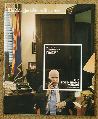 JOHN McCAIN New York Times Magazine NYT December 22 2013 12/22/13