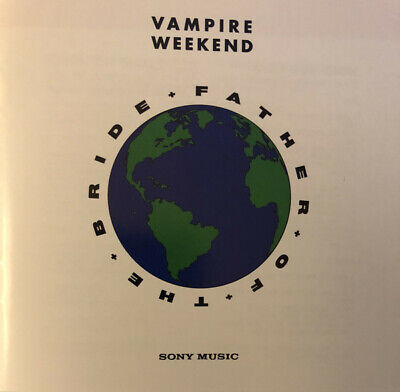 Vampire Weekend -`Father of the Bride`,2019,18 trks,20 page lyric b/l,ALL AS NEW
