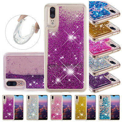 For Huawei P Smart 2019 Case P30 Pro Bling Quicksand Soft TPU Shockproof Cover