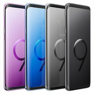Samsung Galaxy S9 SM-G960F 64GB 128GB 256GB Gold Black Blue Purple Unlocked