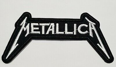 Metallica Logo Embroidered Iron On Or Sew Patch