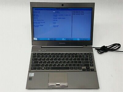 "Toshiba Portege Z930 13.3"" Intel i7-3687U 2.1GHz 6GB 128GB SSD 1366x768 Laptop"