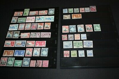 Nice Lot of Early BERMUDA STAMPS  Removed from Albums GREAT VALUE BERM25JUNE