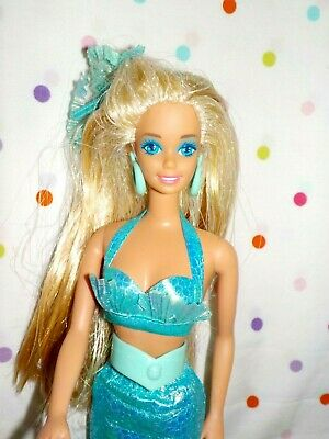 Gorgeous Vintage Mermaid Barbie Doll, Original Clothes,HairbowEXCD Mattel,Toys