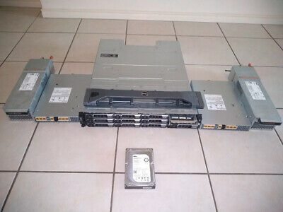 Dell Powervault Md3200 Storage Sas Array With 1X3Tb Hard Drive Dual Controllers