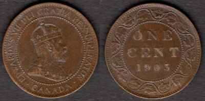 CANADA 1903 Large Cent XF