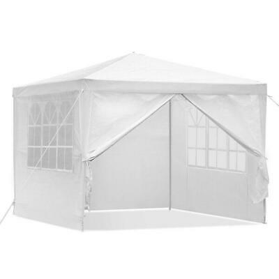 Instahut 3x3m Gazebo Party Wedding Marquee Event Tent Shade Canopy Camping White