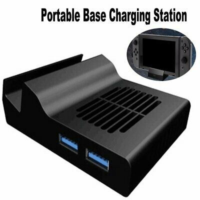 Portable Dock Switch Base Charging Station for Nintendo Switch Converter HDMI UK